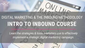 Intro to inbound marketing course