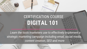 digital 101- certification