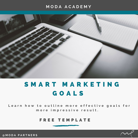 SMART Marketing Goals Button